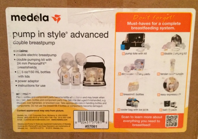 Insurance & Medela Pump in Style