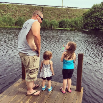 Daddy & Daughters Fishing