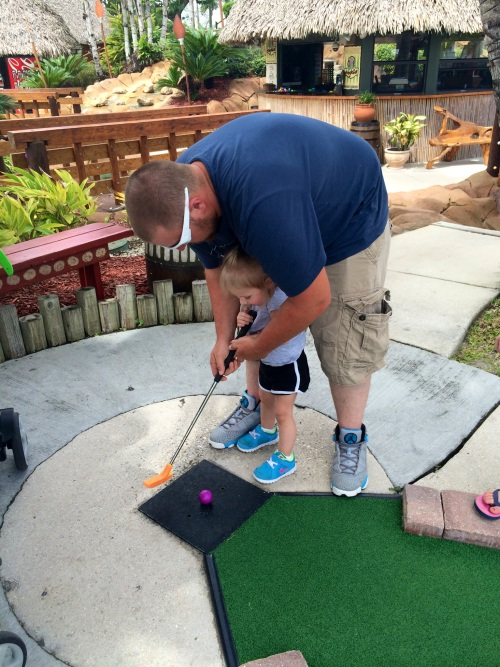 Time Off Miniature Golf