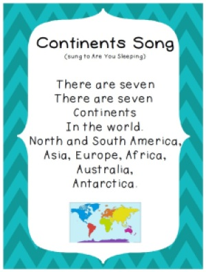 continent song