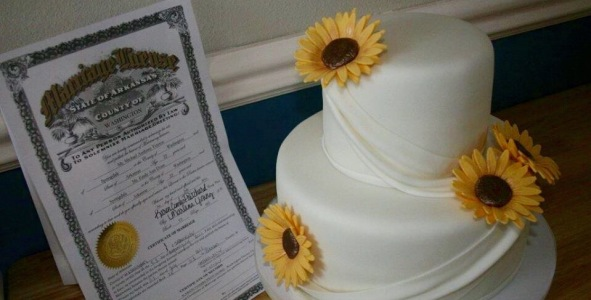 Our Weddint Cake