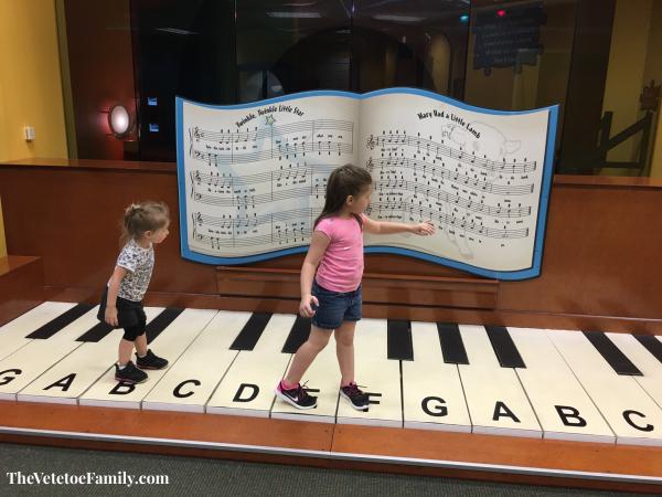 Mayborn Museum Piano