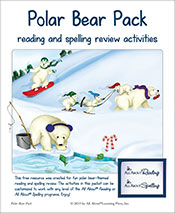 Polar Bear Pack (reading and spelling fun!)